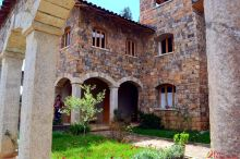 Vista de la parte interior de la Casa Nazareth Illauro