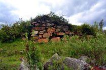 Restos arqueológicos de Cashajirca en San Luis Ancash
