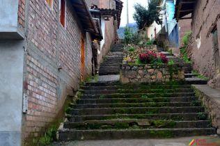 Calle cercana a Paccha-San Luis-Ancash