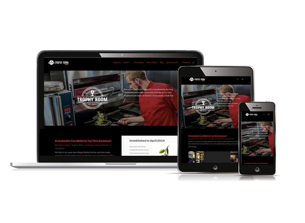 Trophy Room Boston - Perugi Web Design | Wordpress Web Design and ...