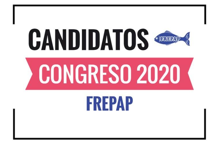 Candidatos al Congreso FREPAP 2020