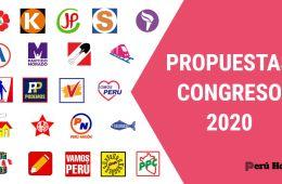 Propuestas Congreso 2020 Perú
