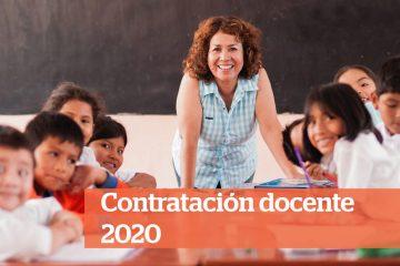Contrato docente MINEDU 2020