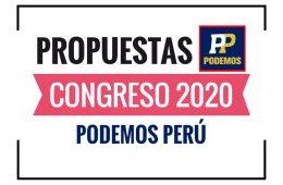 Propuestas de Podemos Perú