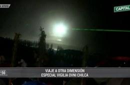 Avistamiento OVNI Chilca Perú