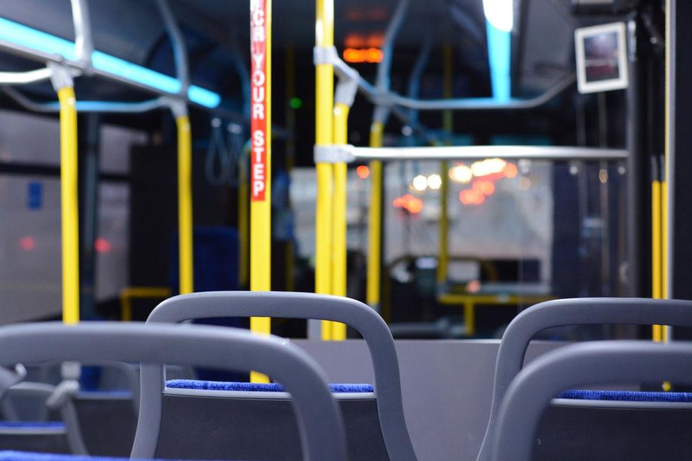No utilizar transporte público por la pandemia global