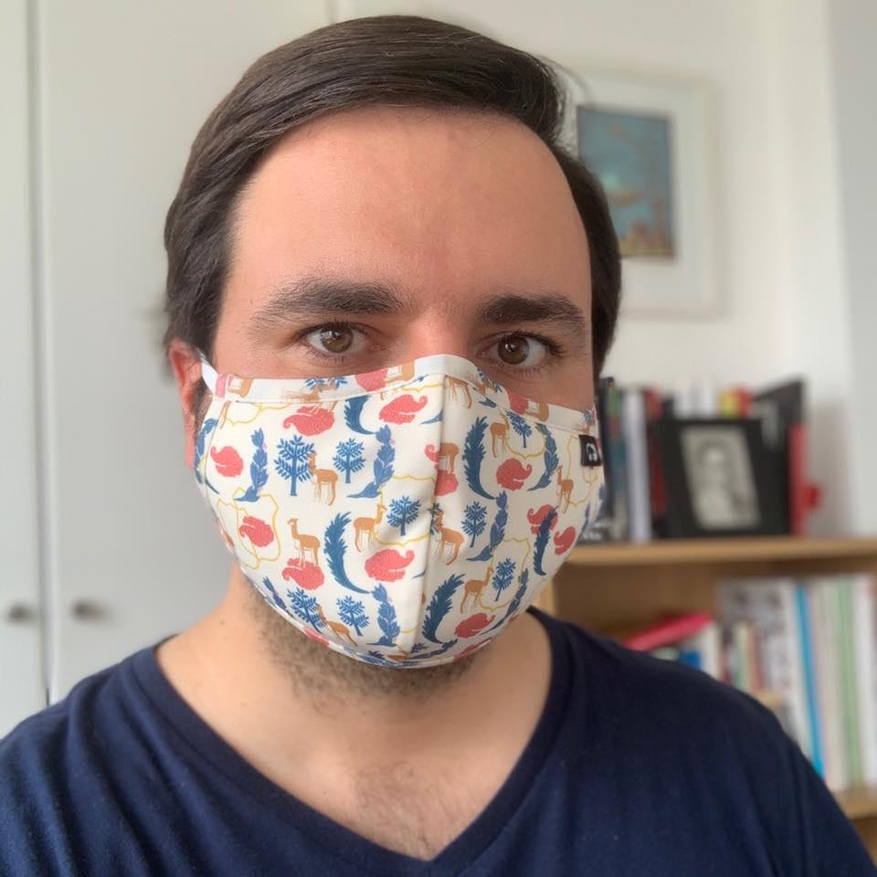 Mascarilla Coolmask Alberto de Belaunde