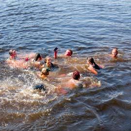 lake swimming