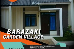 Rumah Syariah Depok Barazaki Garden Village