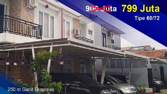 Cluster Bintara 11 Bekasi | Perumahan Syariah Murah di Bekasi