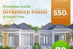 Raudhatul Jannah Residence | Perumahan Syariah di Bekasi