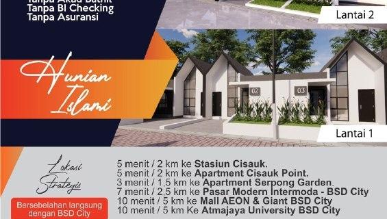Al Fath Garden Cisauk | Rumah Murah Cisauk Tangerang