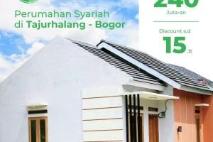 Baitul Qalbi Rumah Murah di Tajurhalang dekat Stasiun Citayam Bogor