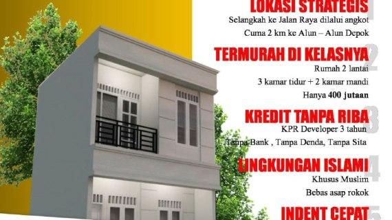 Cluster Baiti Jannati Residence 2 Depok