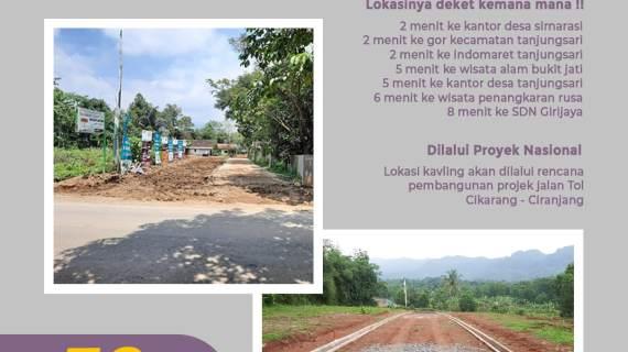 Raudhoh Madani Hills Tanjungsari Kavling Murah di Bogor