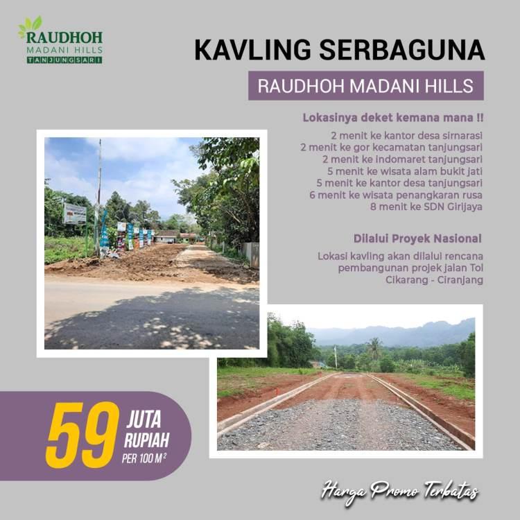 Raudhoh Madani Hills Kavling Murah di Bogor