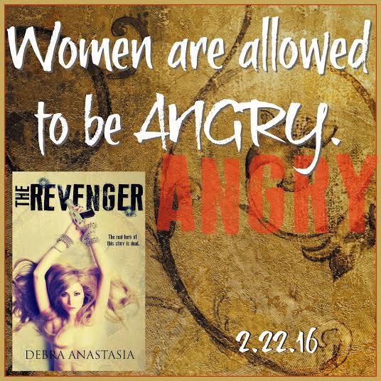 The Revenger by Debra Anastasia - New Release and Blog Tour