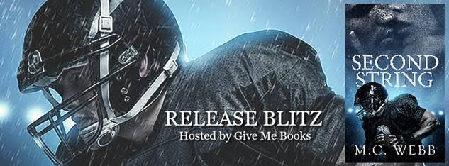 Release Blitz for Second String by M.C. Webb