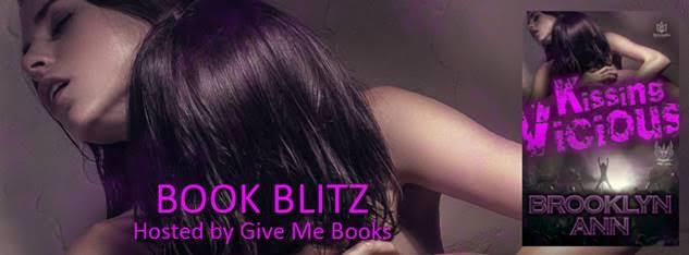 Book Blitz for Kissing Vicious by Brooklyn Ann