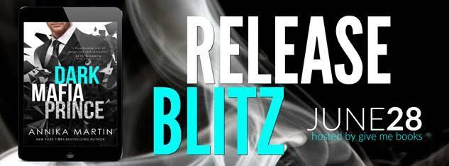 Release Blitz for Dark Mafia Prince by Annika Martin