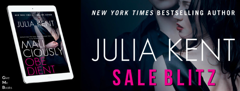 SALE BLITZ Aug 31- Maliciously Obedient by Julia Kent