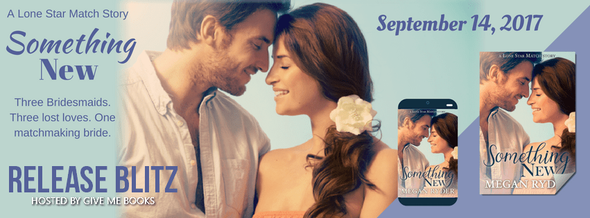 Hot New Release -Sept 14- Something New by Megan Ryder