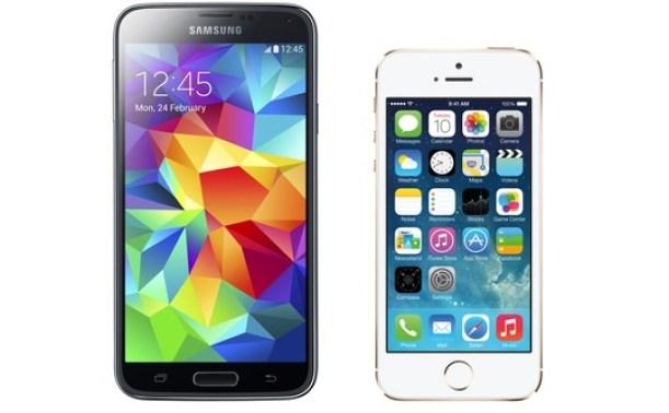 samsung-galaxy-s5-vs-apple-iphone-5s-540x334