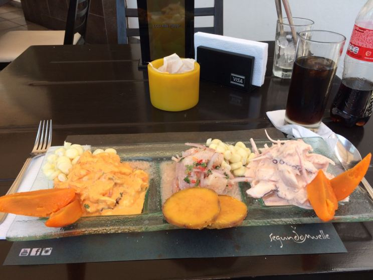 Different Ceviches