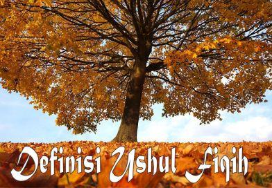 Definisi Ushul Fiqih