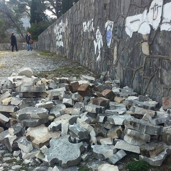 Partizansko groblje u Mostaru, foto: Ines Tanović Sijerčić