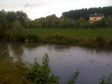 Fiume torsa a Torsa di Pocenia