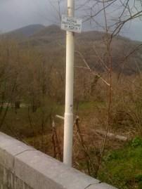 Fiume Natisone, Ponte di Vernasso (inizio zona RP1), Aprile 2013