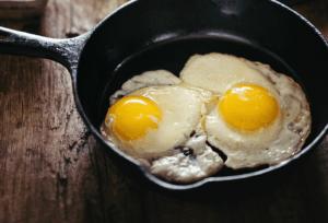 Eggs for protein on vegetarian keto diet