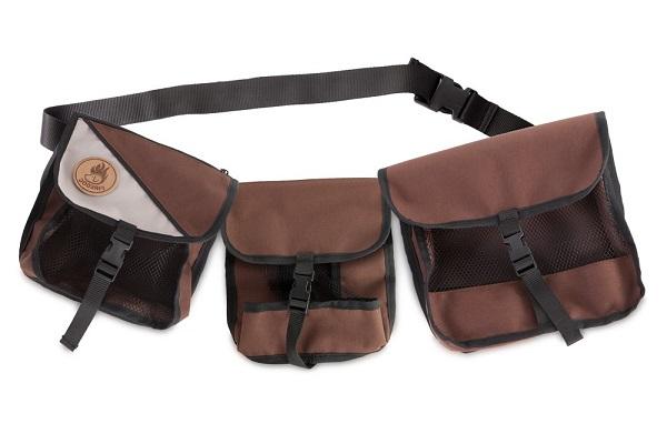 Амуниция для дрессировки собак сумка для корма на пояс