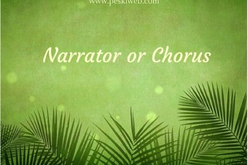 Narrator or Chorus?