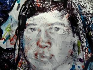 Detalle Retrato Noel Loeschbor