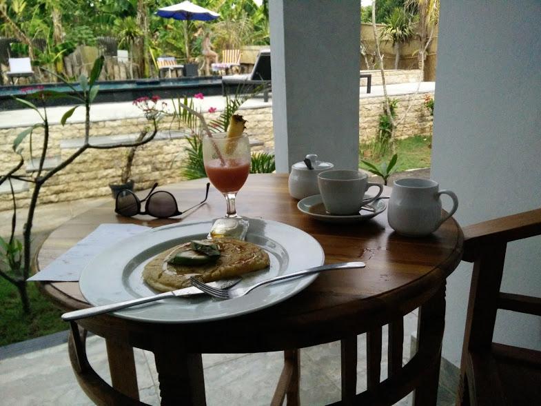 Lembongan Island Bali Breakfast