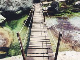 bridge over paradise