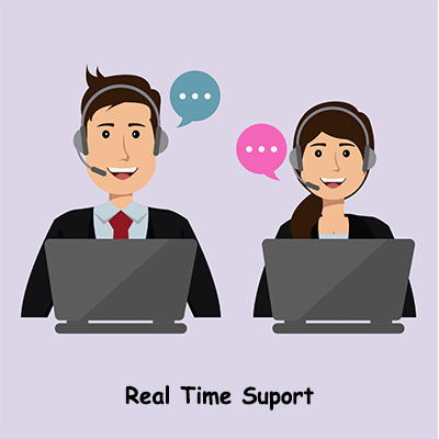 real time support