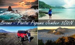 paket wisata bromo pantai papuma 3 hari 2 malam