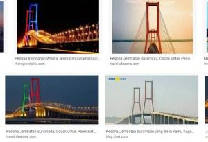 Pesona Wisata Surabaya Jembatan Suramadu