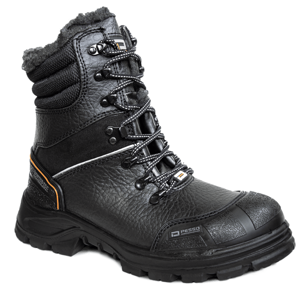 Natural leather Winter safety boots