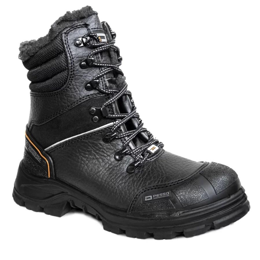 Leather safety shoes Pesso Polaris S3 pessosafety.eu