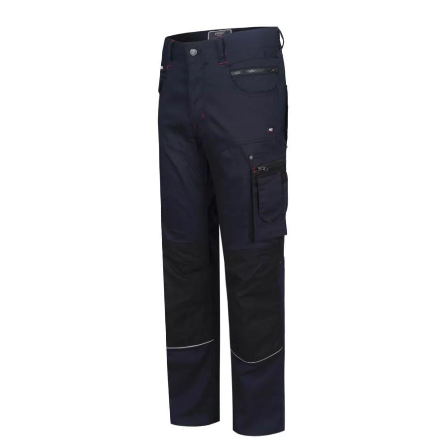 Workwear Trousers Pesso Twill Stretch 215, navy pessosafety.eu