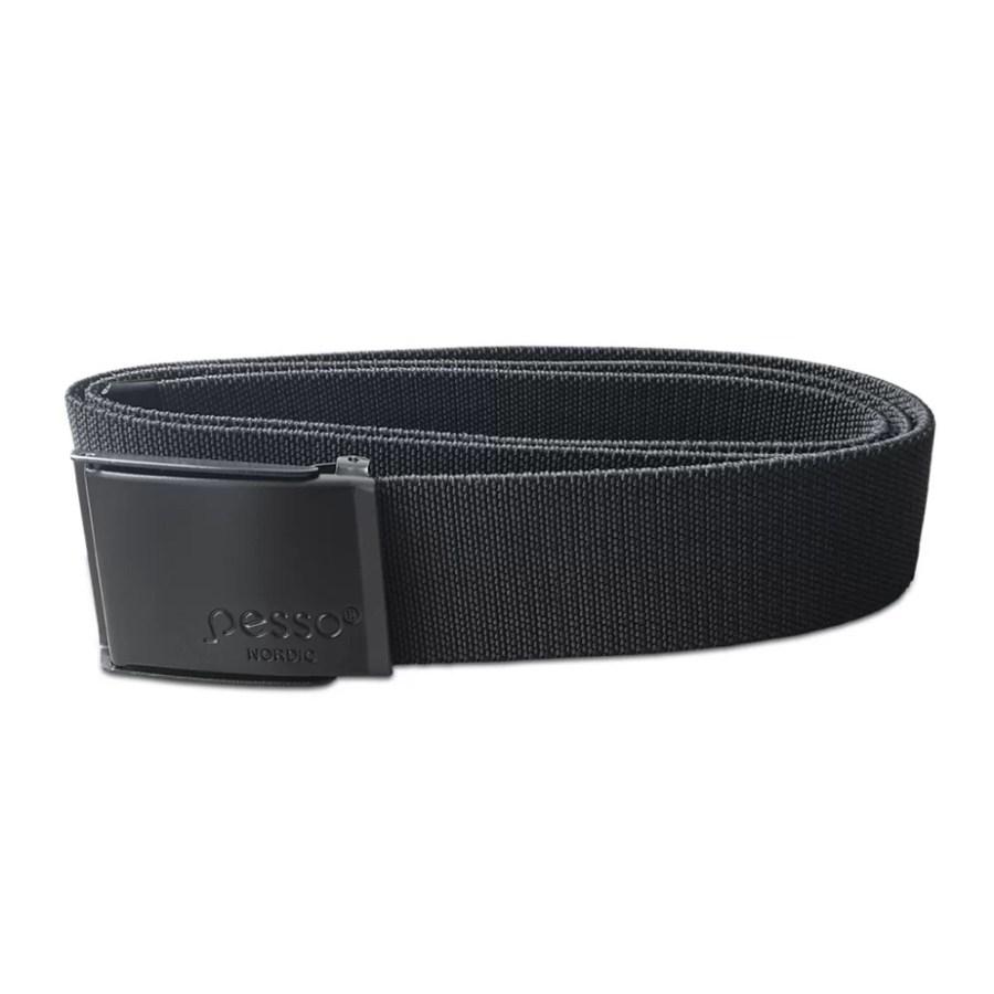 Elastic textile belt Pesso 120, black pessosafety.eu