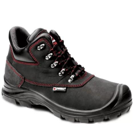 Leather safety shoes Pesso B254 S3 pessosafety.eu
