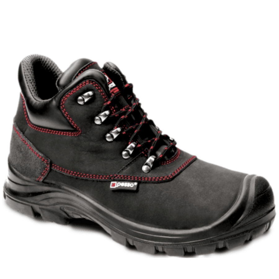 Leather safety shoes Pesso B254 S3 pessosafety.eu