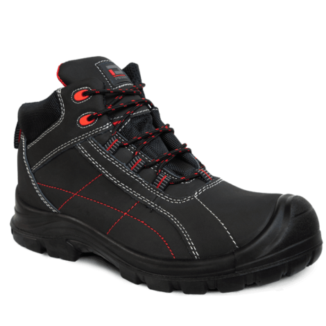 Leather safety shoes Pesso Kormoran S3 pessosafety.eu