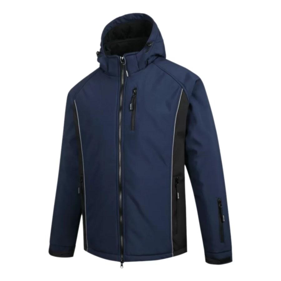 Softshell winter Jacket Pesso Otava, navy pessosafety.eu
