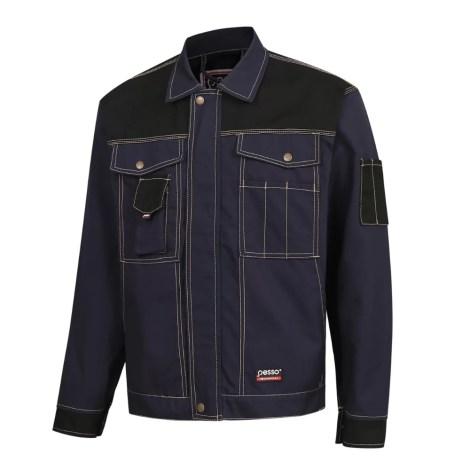 Workwear jacket Pesso Canvas DSCM, navy pessosafety.eu